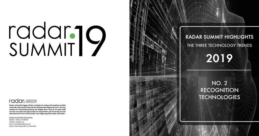 Trends radar summit 2 2019